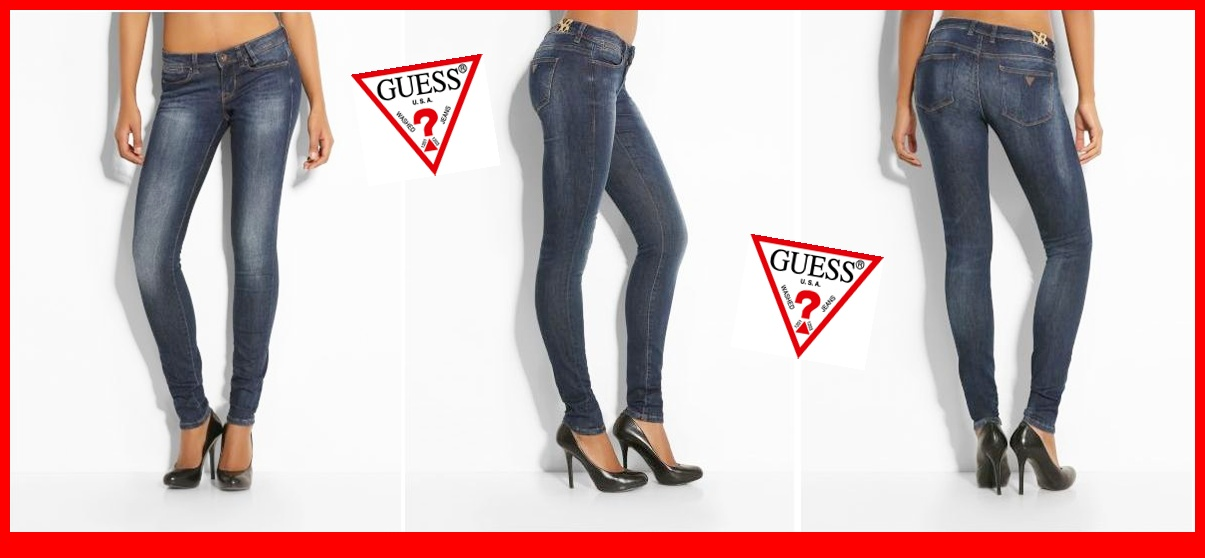 pretty nice 38111 7a2ac Terzo Millennio StoreFantastico Jeans Guess Donna ...