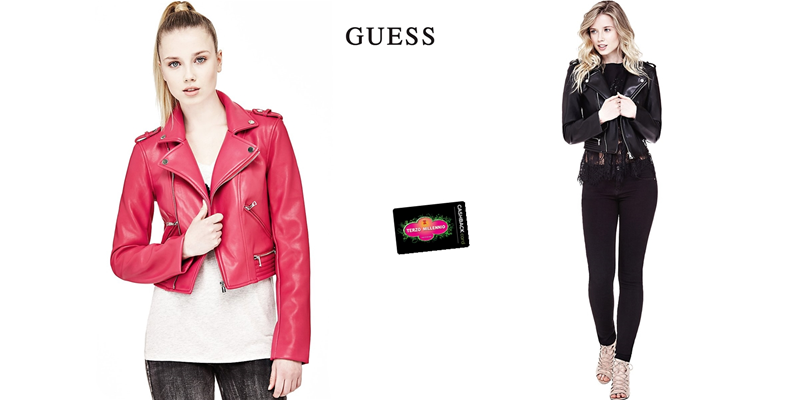 Layla Donna Primavera Ecopelle Jacket Guess Giubbotto W9kp0 W81l68 dnqxYHZqw